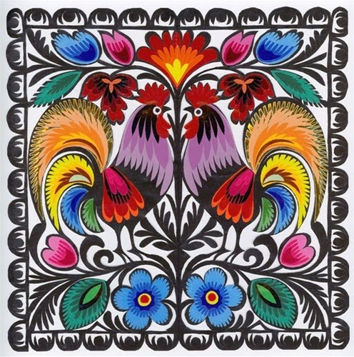 polish-paper-art-roosters-square-black